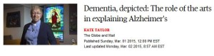 Dementia Globe and Mail
